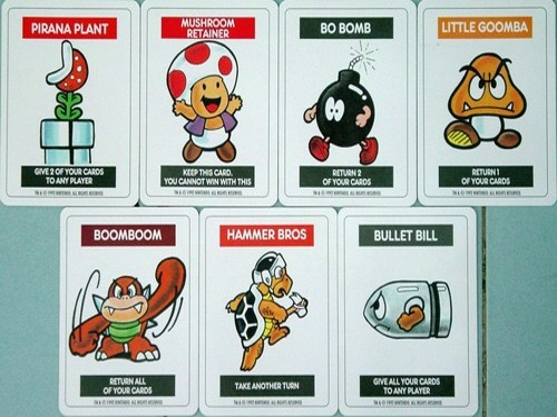 Super Mario Bros. Card Game