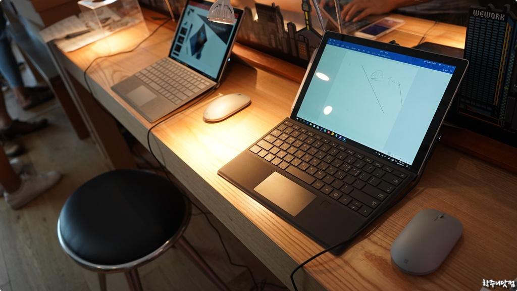 [The new Surface Pro] 다재다능한 기업형 태블릿을 가장한 랩탑, 새로운 서피스 프로 런칭 행사 스케치