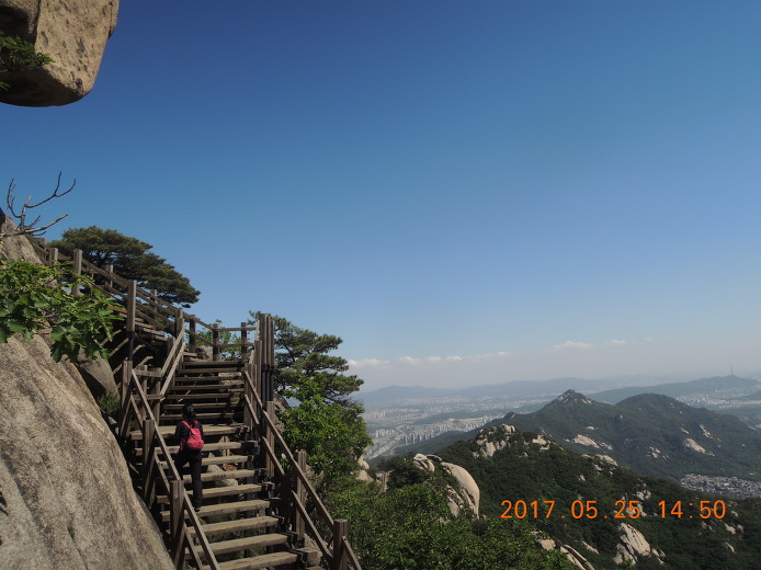 수락산 등산코스 등산지도