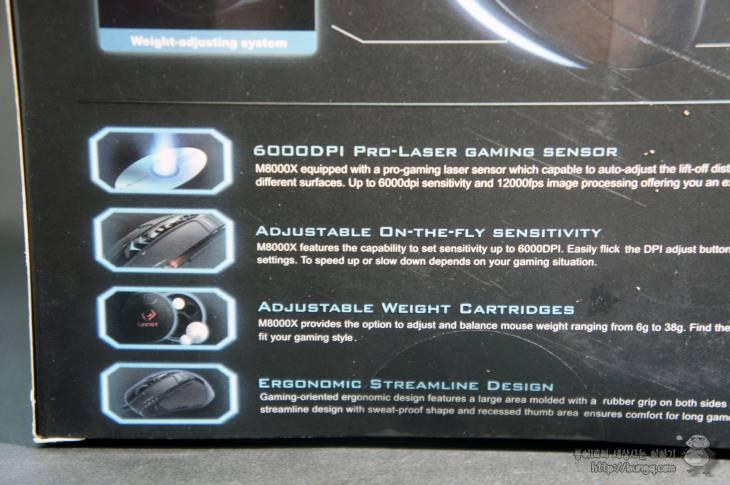 게이밍마우스, 기가바이트, m8000x, gm8000x, 특징