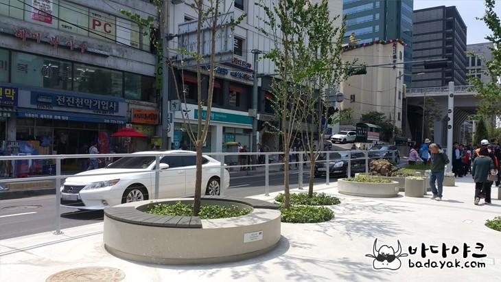 서울로 7017 서울역 고가공원 슈즈트리