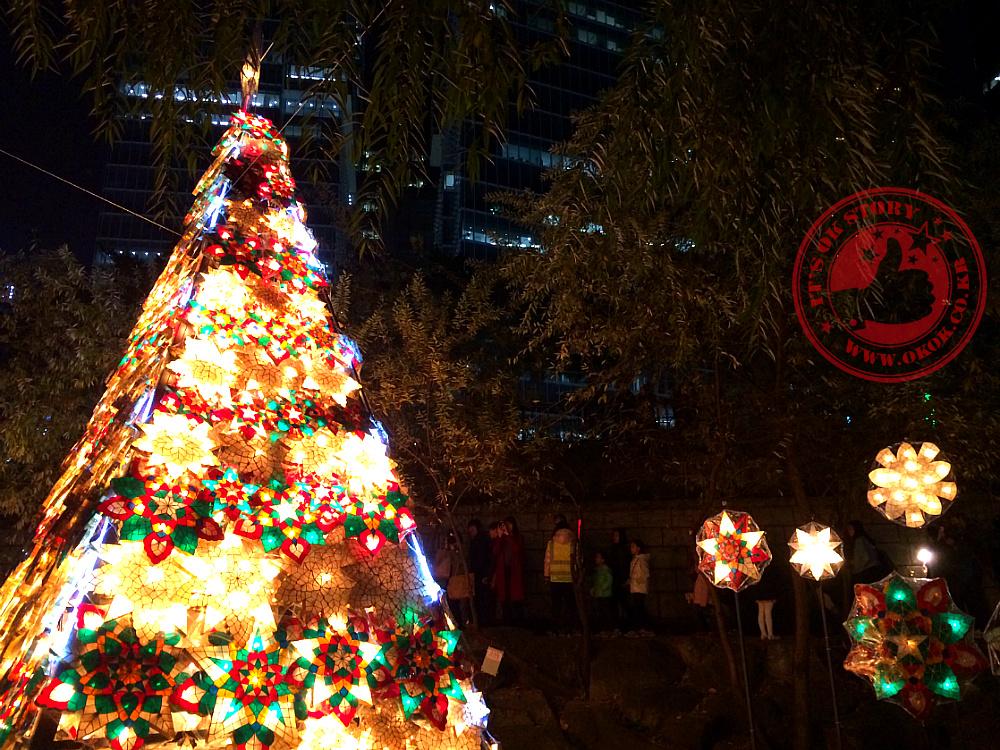 [2014년 청계천 서울빛초롱축제] 청계천 등불축제 / 청계천 야간데이트 추천