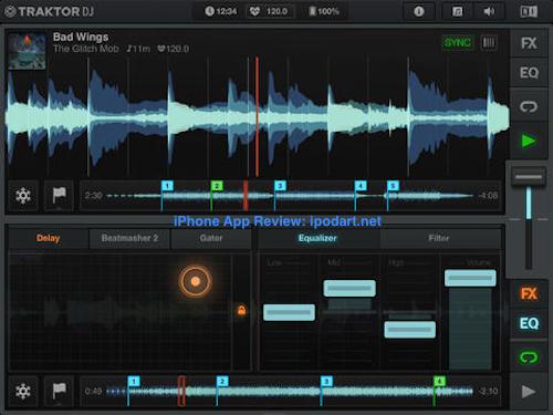 Traktor DJ 아이패드 앱스토어 베스트 앱 2013