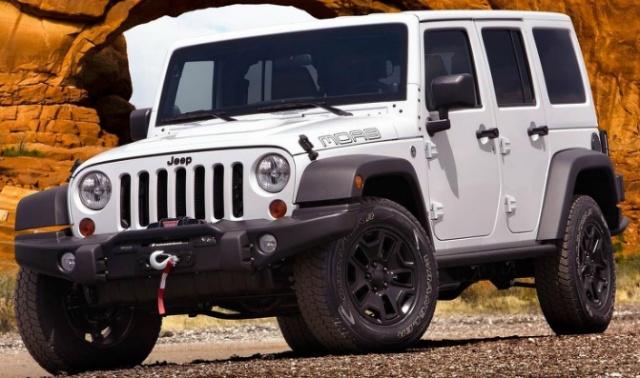 지프(Jeep) 랭글러 사하라 루비콘