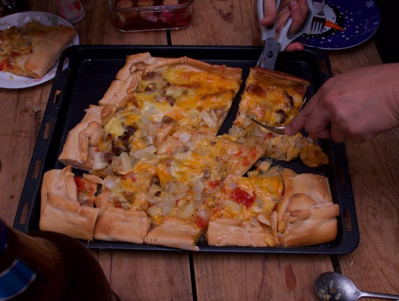 아재들을 위한 안 더부룩 피자 만들기