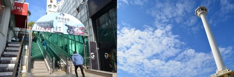 남포동 BIFF, 씨앗호떡, 용두산 공원 부산타워