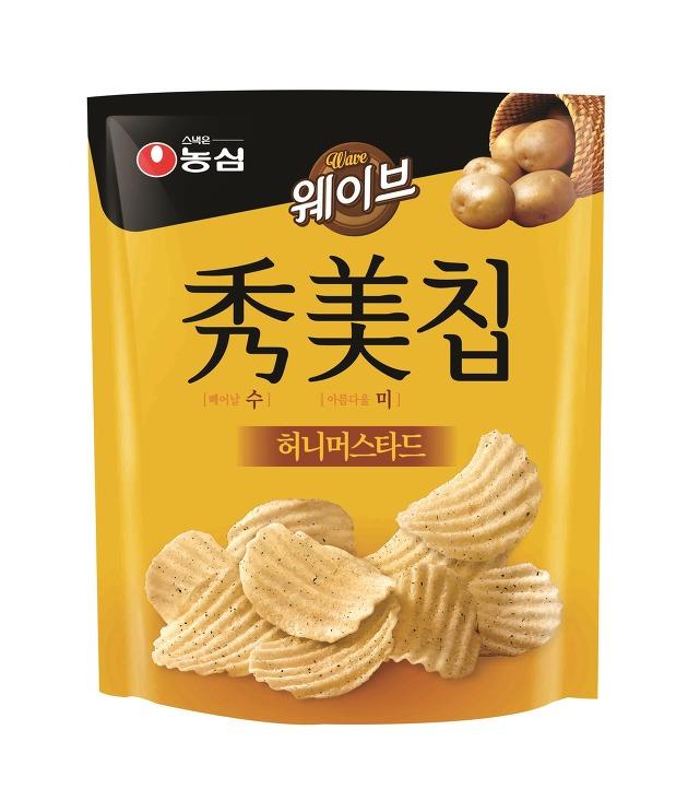 농심, 수미칩 3번째 맛 '허니머스타드' 출시!
