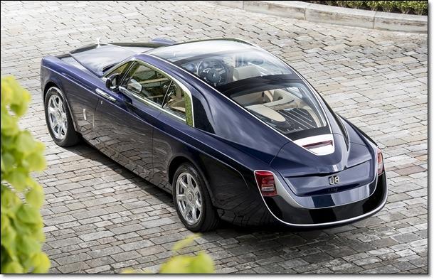 한대 140억 하는 차 롤스로이스 스웹테일(Sweptail)