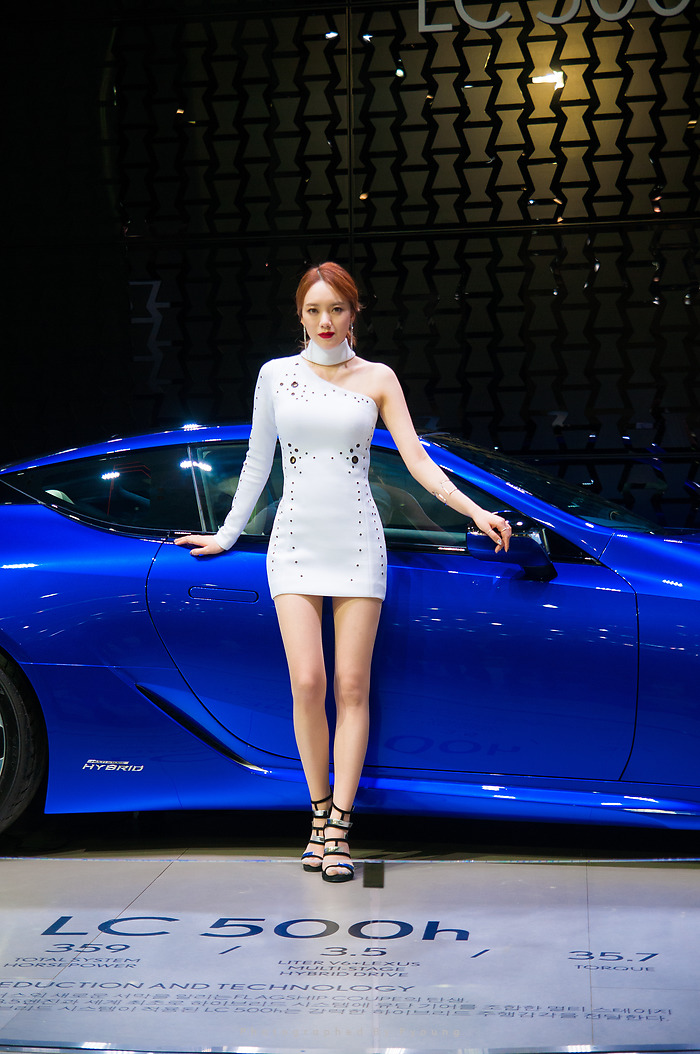 2017 서울 모터쇼 모델 권소라