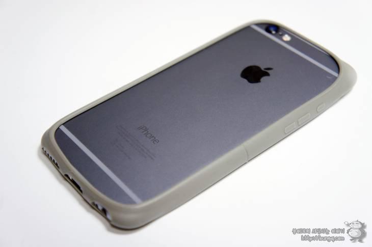 아이폰, 6, 6s, 플러스, 케이스, 범퍼케이스, 솔리드그레이, 스페이스그레이