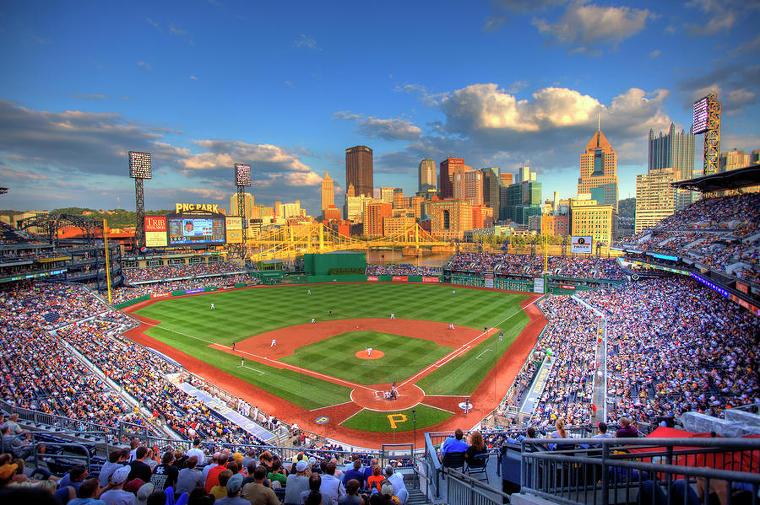 피츠버그 홈구장 PNC 파크, 잠실, 목동 야구장 크기 비교