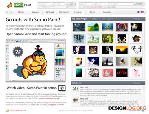 스모 페인터(Sumo Paint)