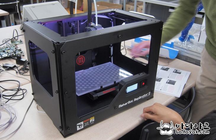 데스크탑용 3D 프린터 메이커봇 리플리케이터 플러스