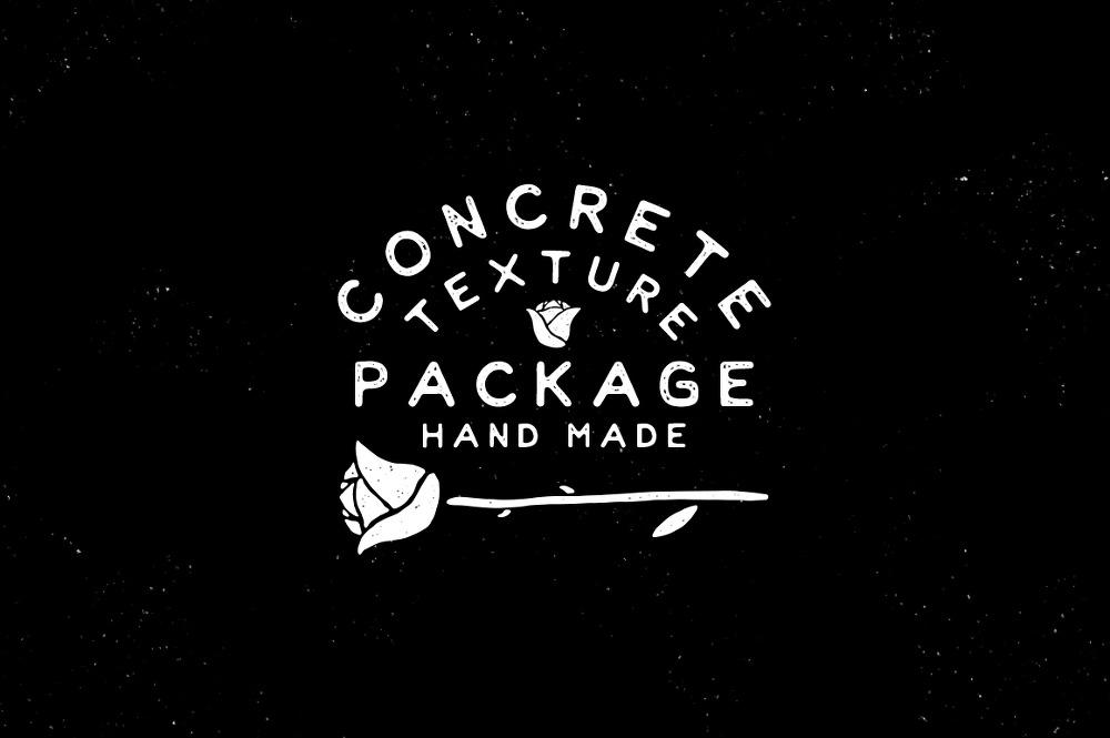 6 가지 무료 포토샵 콘크리트 텍스쳐 - 6 Free Photoshop Concrete Textures