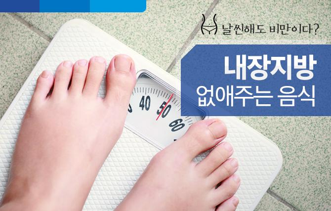 날씬해도 비만이다? '내장지방'을 없애주는 음식