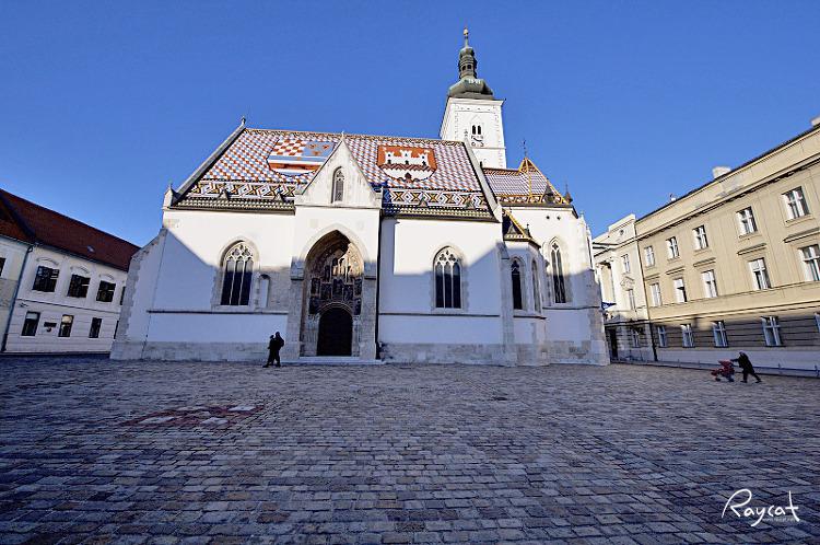 자그레브 성 마르코 성당