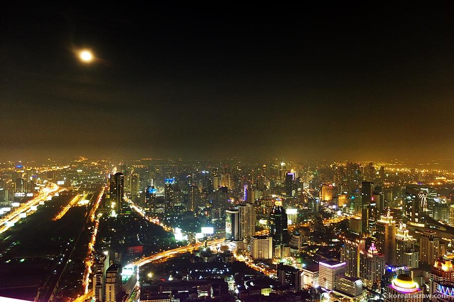 바이욕스카이호텔야경풍경사진