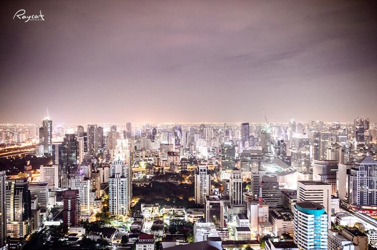 방콕의 야경