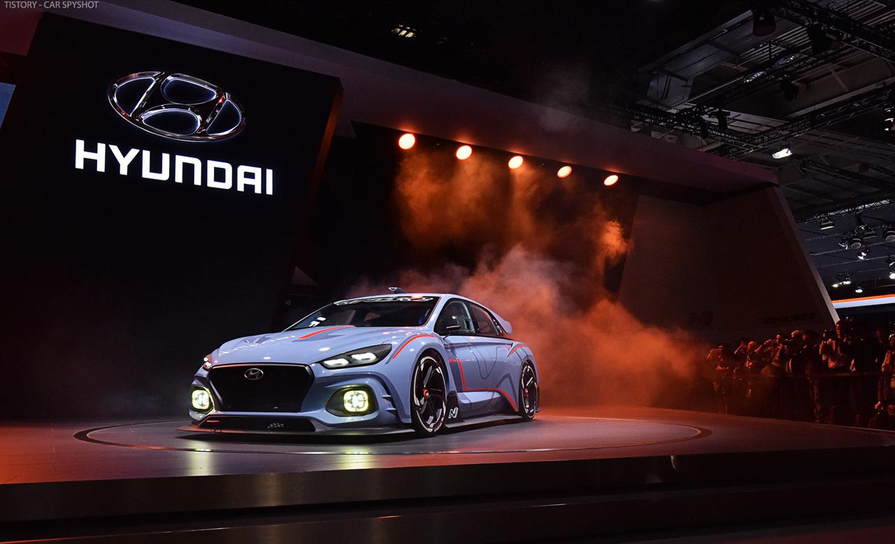 [2016 Paris] all-new Hyundai i30 & RN30 concept