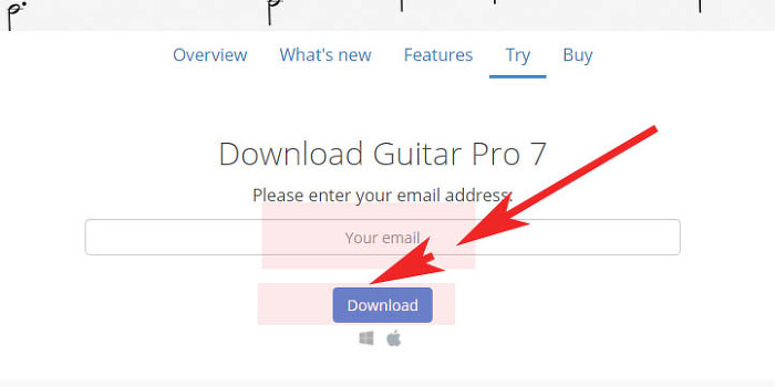 기타악보프로그램 기타프로6 무료 설치 및 사용안내