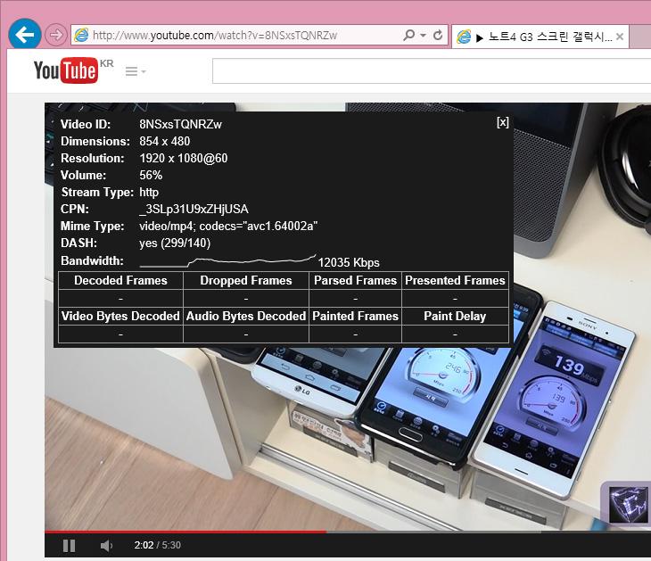 유튜브 60프레임 지원, 파이어폭스 지원 안해,유튜브 60프레임,유튜브,Youtube 60 Frame,Youtube,유튜브,IT,60프레임,프로그래시브,유튜브 60프레임 지원 소식은 이미 예전에 나왔고 지금 이미 지원하고 있죠. 다만 파이어폭스는 지원을 아직 안하는군요. 인터넷 익스플로러 상위 버전과 구글 크롬은 지원을 합니다. FDR-AX100 을 사용하면서 풀프레임 60프레임으로 촬영해서 올려보니 아주 깨끗하게 유튜브 60프레임을 잘 지원하네요. 프레임이 높아진만큼 화질도 좋아지고 움직임도 매우 부드럽습니다. FPS 게임같은 영상을 올리는 분들에게도 매우 좋을테구요. 최근 캠코더는 60프레임을 대부분은 지원하므로 60i를 30프레임으로 줄인 반쪽짜리 프로그래시브 보다는 훨씬 깨끗한 영상을 만들 수 있습니다. 유튜브 60프레임은 저도 예전에 알았지만 주브라우저가 파이어폭스라서 60프레임으로 올려놓고도 적용이 안되어서 아직 안되는것인가라고 생각했었는데 지원을 이미 하고 있었네요. 앞으로 올릴 동영상은 모두 60프레임으로 촬영해서 올릴 계획입니다.  FDR-AX100은 UHD 해상도에서는 30프레임 24프레임만 지원을 합니다. 그래서 막상 촬영해놓고보면 뭔가 너무 아쉬운데요. UHD 해상도에 60프레임으로 촬영하려니 FDR-AX1이 필요하네요. 아무래도 뽐뿌를 못이기고 또 캠코더 갈아타기를 할것만 같은데요. 물론 인코딩도 시간이 너무 걸리므로 고성능PC도 필요할듯하구요. 참고로 풀HD에 30프레임 인코딩이 1이면 풀프레임 60프레임은 1.8배 정도 시간이 더걸리고 UHD 30프레임 인코딩은 3배 이상 시간이 더 걸렸습니다. 길게 촬영하면 인코딩만 2시간 찍히네요. 물론 i7-4770K로 인코딩 해도 그렇네요. 물론 촬영영상 사이즈도 엄청나구요. 물론 유튜브 업로드는 시간이 아무리 길어도 상관없는점이 괜찮지만요.