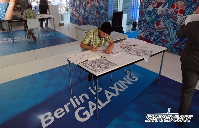 berlin is galaxing, IFA 2013, It, 갤럭시 스튜디오, 갤럭시 시리즈, 갤럭시S4, 갤럭시노트3, 갤럭시줌, 갤럭싱, 독일 베를린, 리뷰, 에코백 그래피티