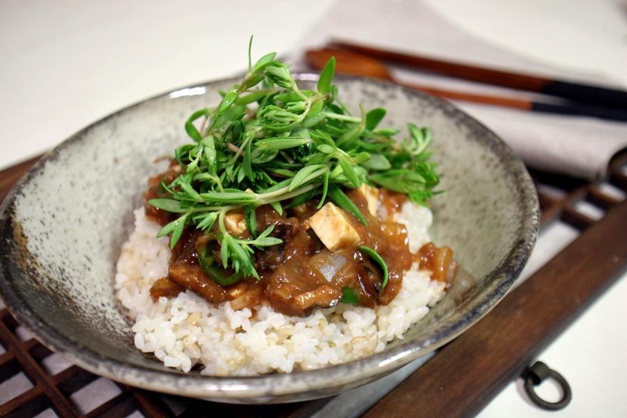 강된장 돌나물 비빔밥