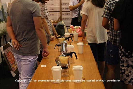 커피, 핸드드립, 체험,커피박람회