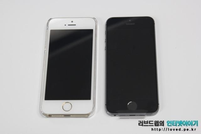 아이폰5S 스페이스 그레이 vs 아이폰5S 골드 비교