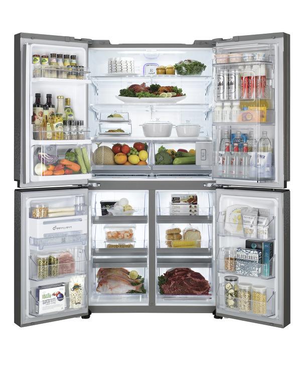 고급스러운 LG냉장고 LG DIOS V9100, 상냉장, 하냉동으로 더 편하게!