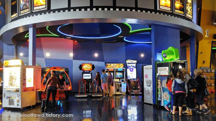 캐나다 영화관 오락실