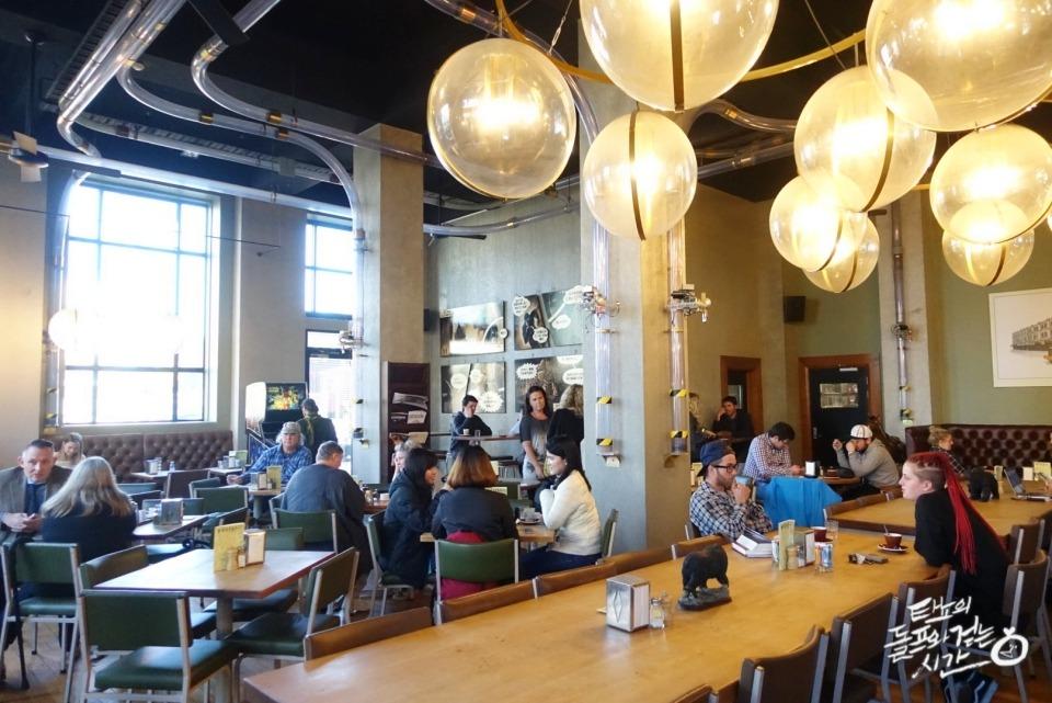 뉴질랜드 치치 크라이스트처치 카페 커피전문점