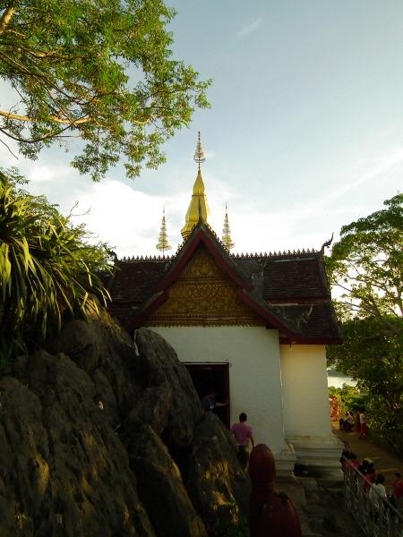 루앙프라방 푸시산 절