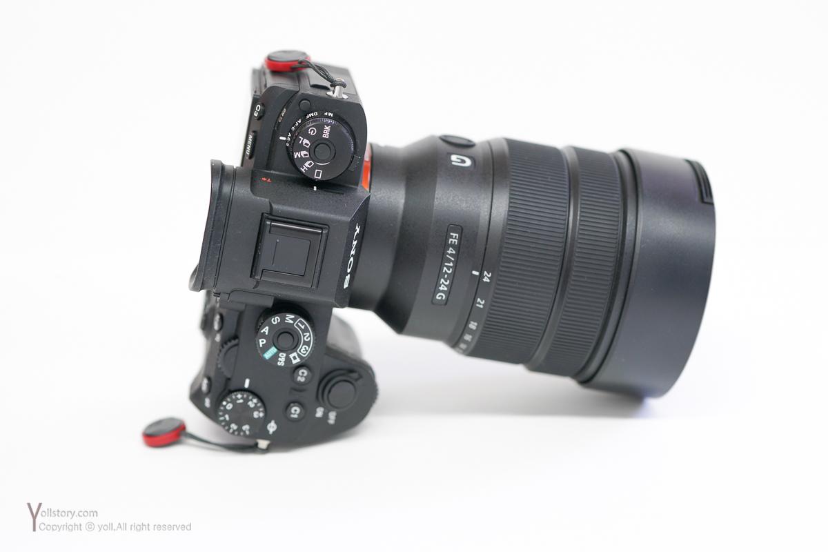 소니 12-24mm F4 G 외관 살펴보기