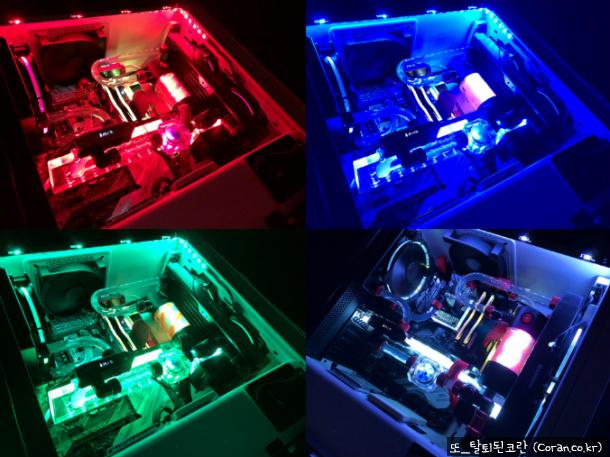 우여곡절 끝에 완성한 첫 커스텀 수랭 조립컴퓨터 완성기 (커수, 커수냉, 커스텀 수냉)