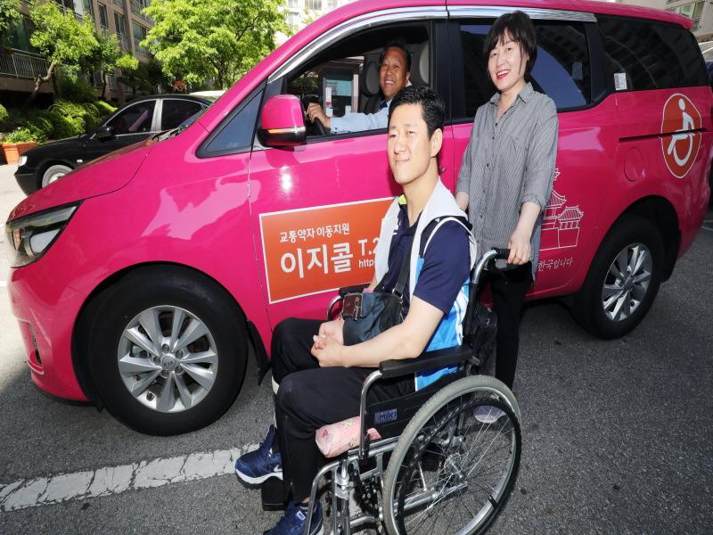 전주시설공단, '거동불편 선거인' 이동 지원