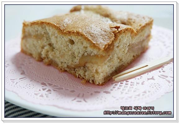 부드럽고 촉촉한 케이크