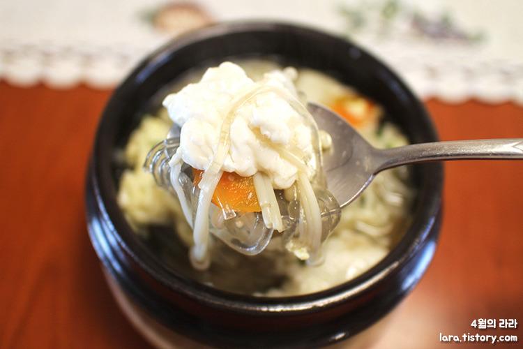 연두부찌개_속편한음식