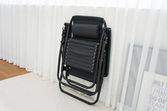 접이식 무중력 의자