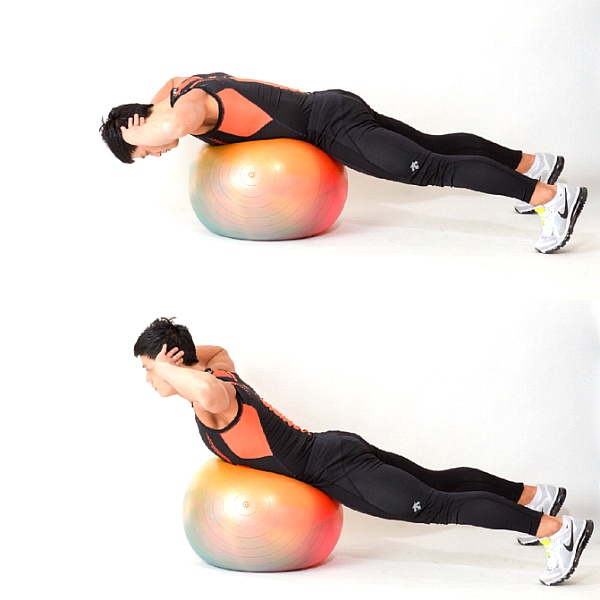 튼튼한 허리를 위한 짐볼 운동 3가지