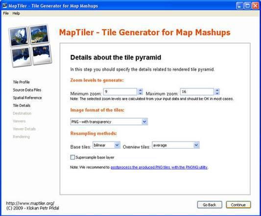 GIS 프로그램 MapTiler