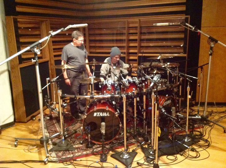 Engineer Greg Reely & Assistant Kyle (Impellitteri - Venom Session)