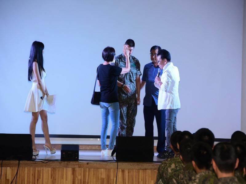 국군 공연단 '전우와 함께', '천원의 기적' 열두번째 이야기