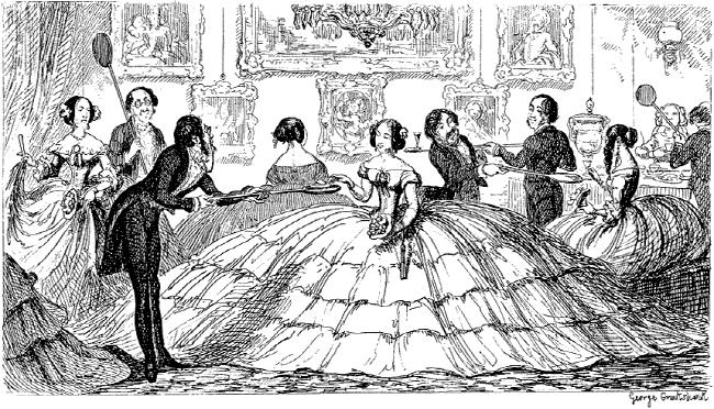 크리놀린 드레스 Crinoline_history