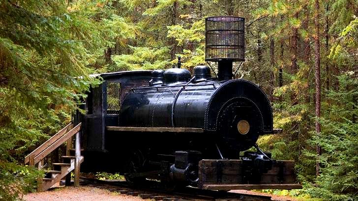 캐나다 북부 철도 증기 기관차입니다
