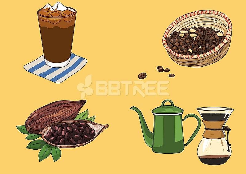 레트로 커피