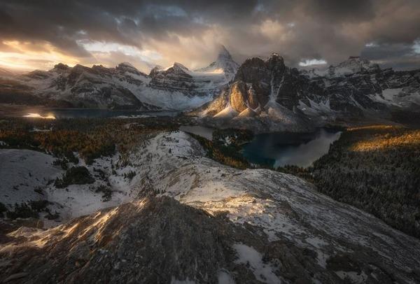 자연 부문 2위. 천국과 지옥 사이(Enrico Fossati)