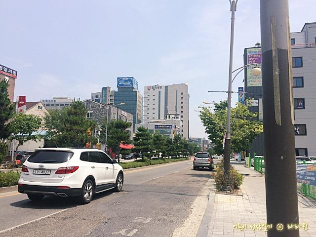 전주 고속터미널에서 한국관 가는길