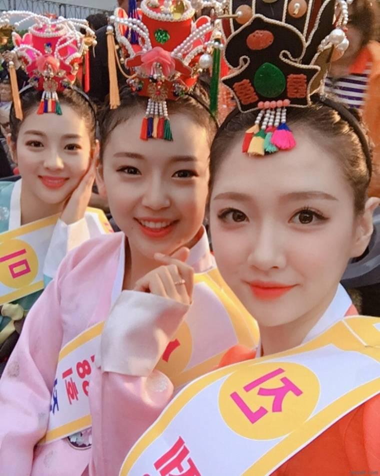 2018년 미스 춘향 입상자들
